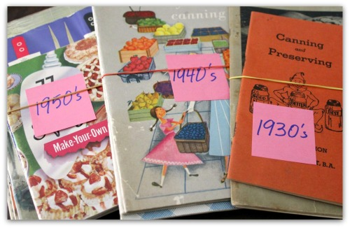 OKMH - October 2013 - Vintage Cookbooks