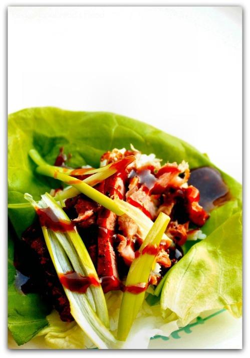 Lettuce Wrap - Inside NanaBread's Head