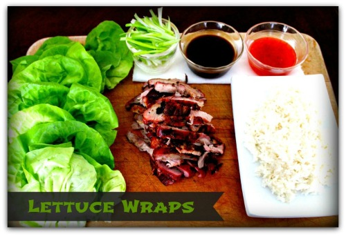 Lettuce Wraps - Inside NanaBread's Head