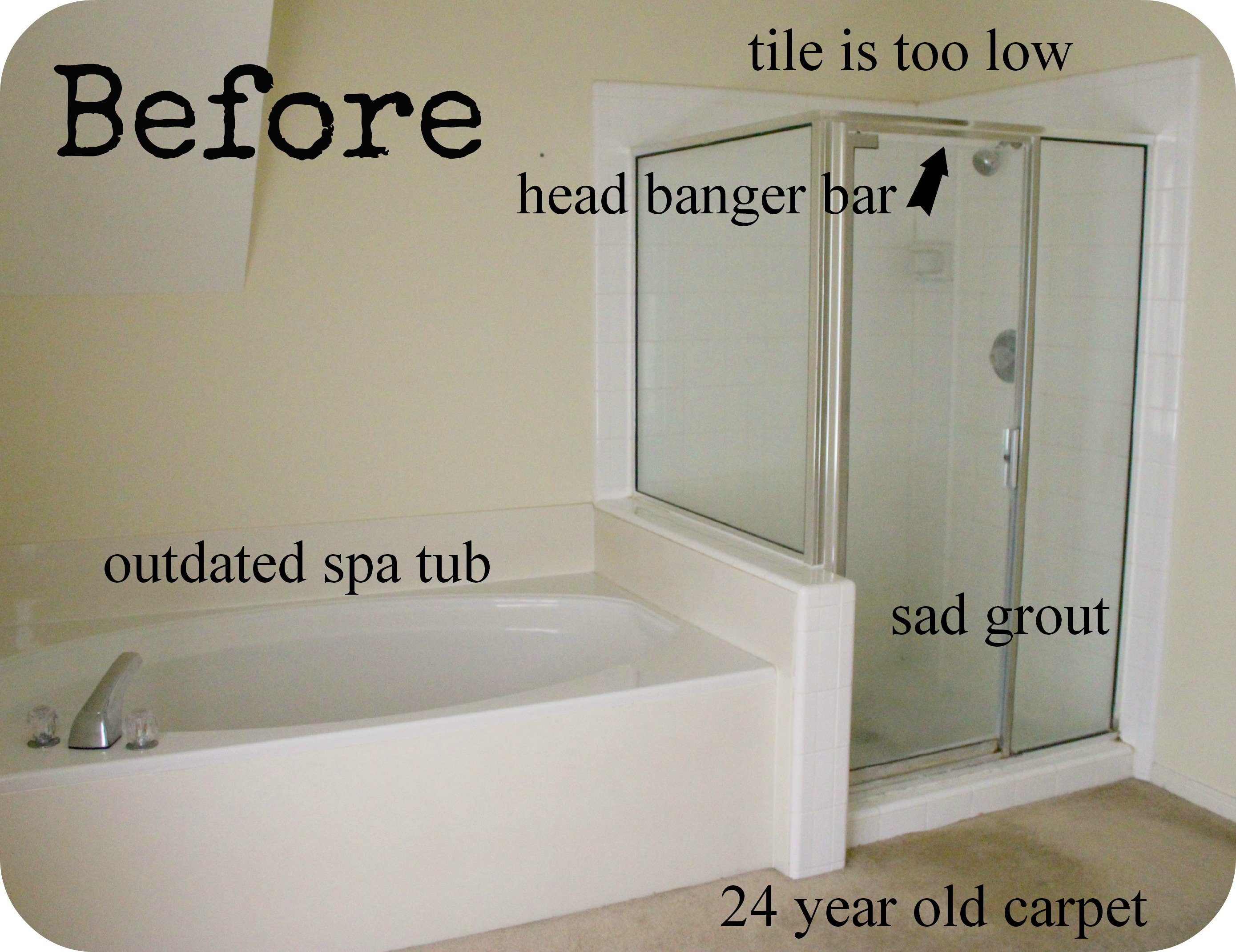The Master Bath Remodel Project | Inside NanaBread\u0027s Head
