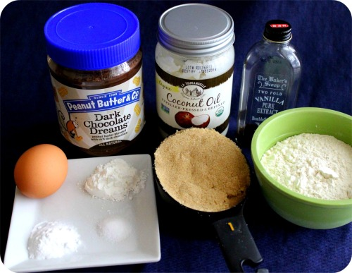 Dark Chocolate Dreams PB & Coconut Oil Cookies - Ingredients