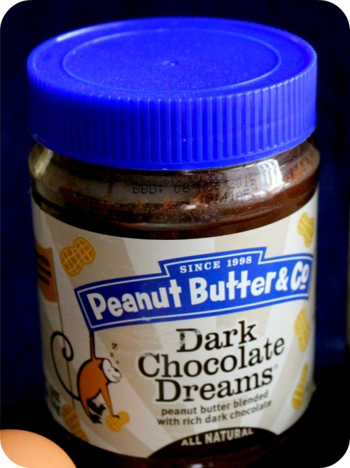 Dark Chocolate Dreams Peanut Butter Close-Up