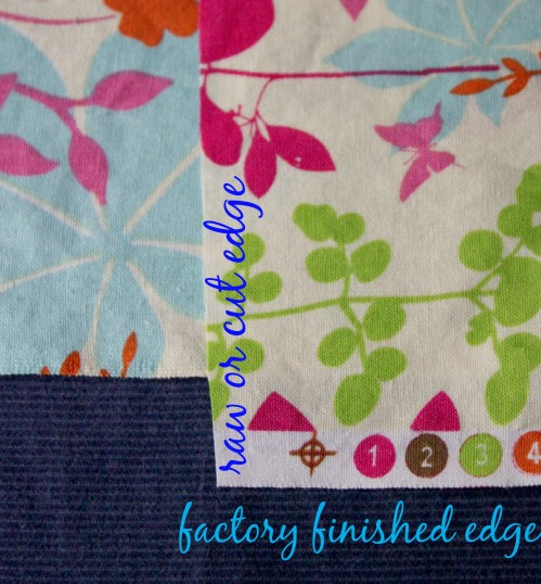 DIY Pillowcase - Factory Finished Edges