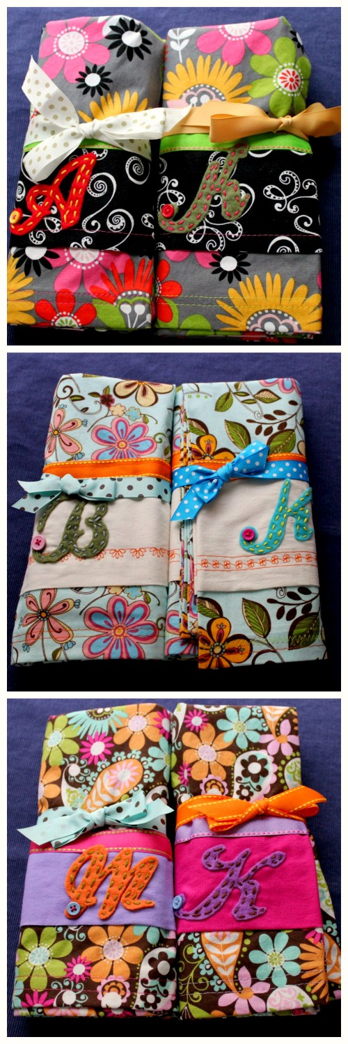 DIY Pillowcase - Finished Cases Collage
