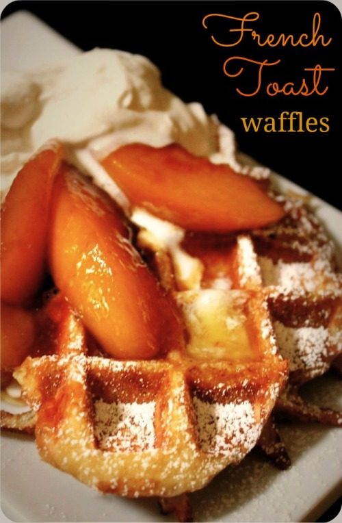French Toast Waffles - Inside NanaBread's Head