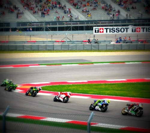 Coming Out of the Corner - MotoGP Austin