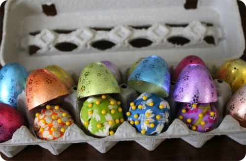 Pin Cushion Crafts - Easter Egg Pin Cushions - Dozen