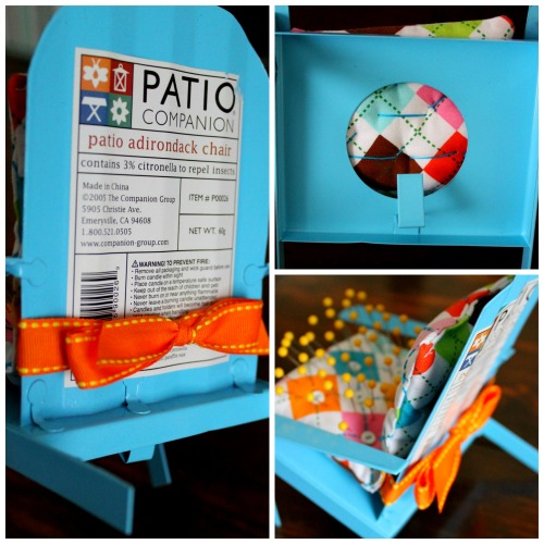 Pin Cushion Crafts - Lawn Chair Pin Cushion Collage