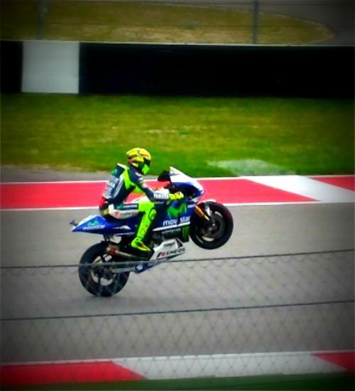 Rossi - Signature Move - MotoGP Austin