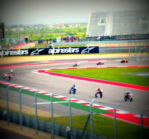 Track Shot - Friday Practice - MotoGP Austin