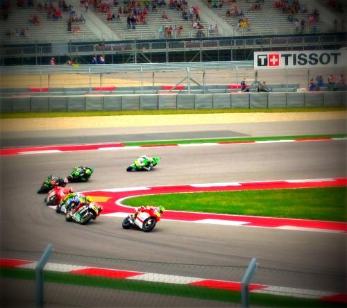 Traffic Jam - MotoGP Austin