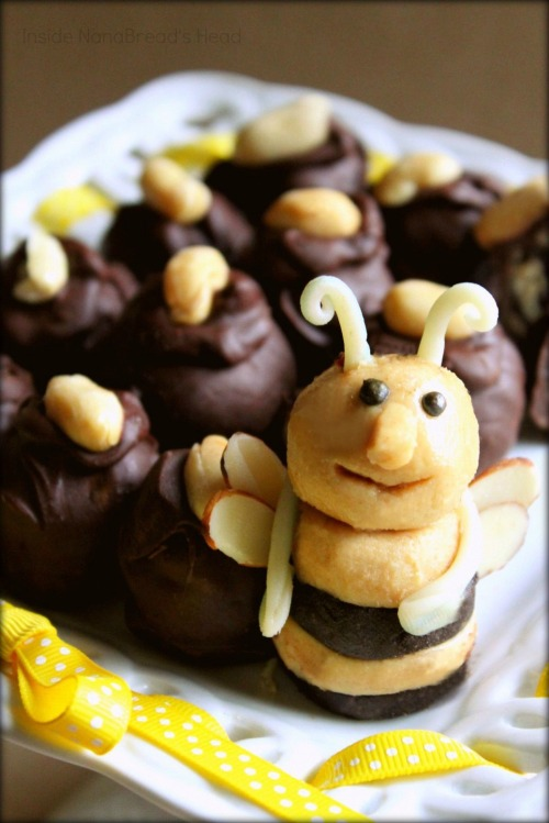 Bee's Knees PB BonBons - Bee CloseUp