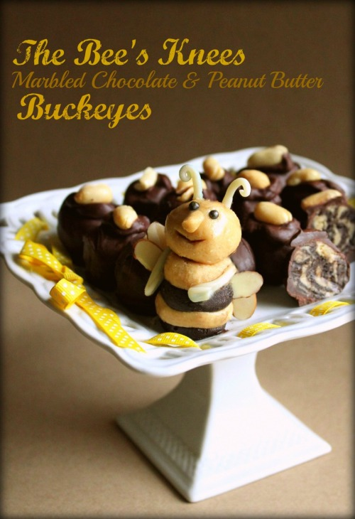 Bee's Knees PB Buckeyes - Inside NanaBread's Head