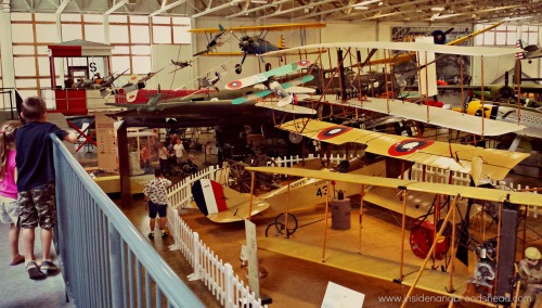 Hill AFB - Aerospace Museum - Old Planes