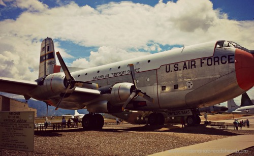 Hill AFB - Outdoor Exhibit - Cargo Plane