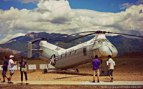 Hill AFB - Outdoor Exhibits & Mountains