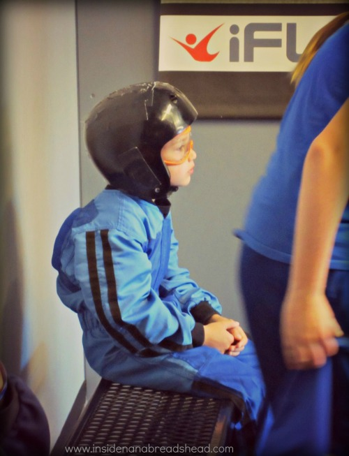 iFly Ogden - Jonah Geared Up & Ready to Fly
