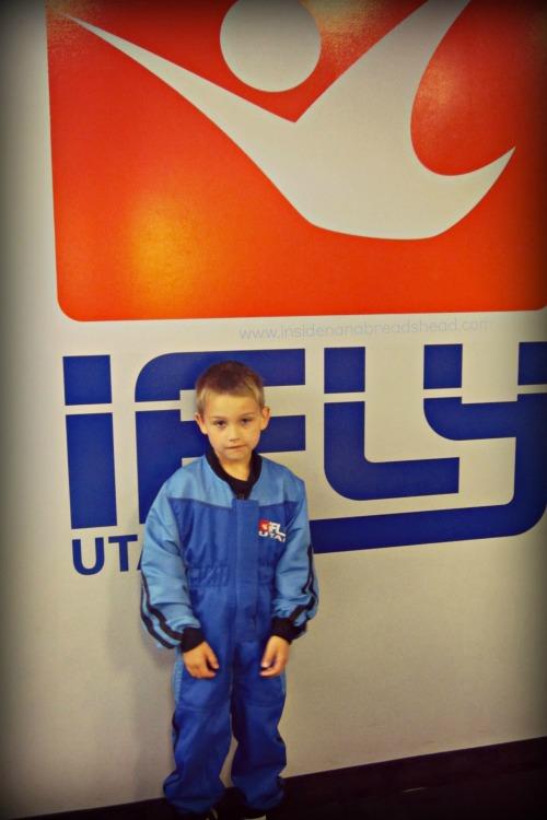 iFly Ogden - Jonah in his flight suit