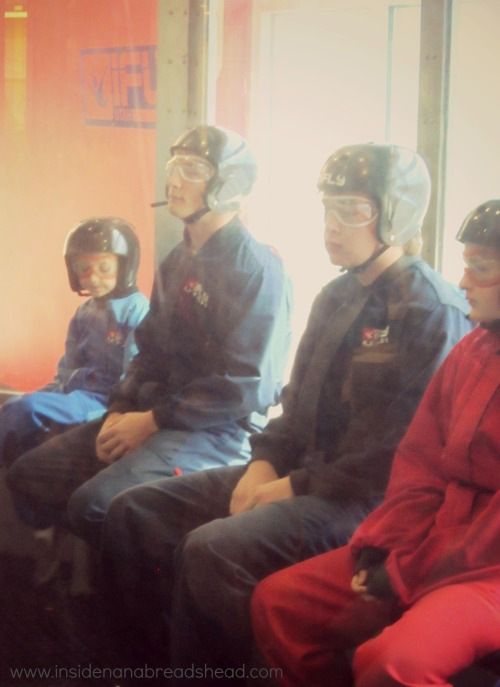 iFLY Ogden - Jonah Waits for His Turn
