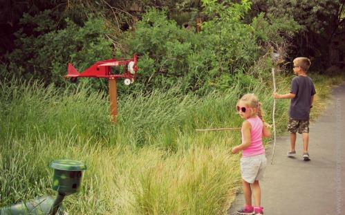 Ogden Nature Center - Hiking the Birdhouse Trail