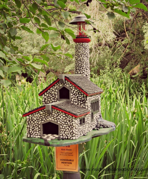 Ogden Nature Center - Lighthouse Birdhouse