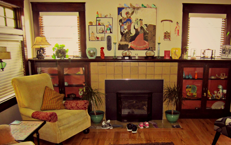 Ogden Rental House   Sitting Room