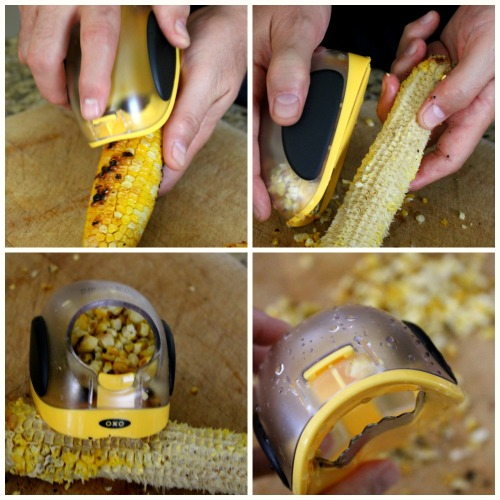 OXO Corn Stripper Collage