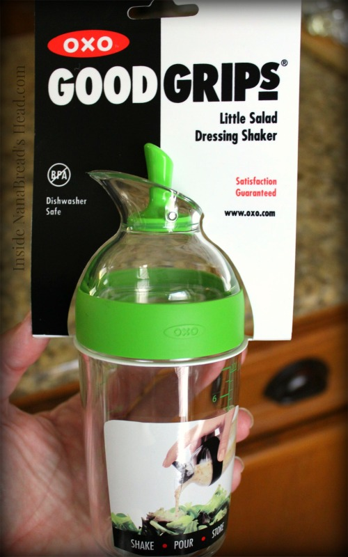 OXO Salad Shaker - CloseUp