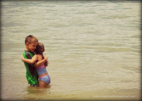 Pineview Reservoir - Sibling Love
