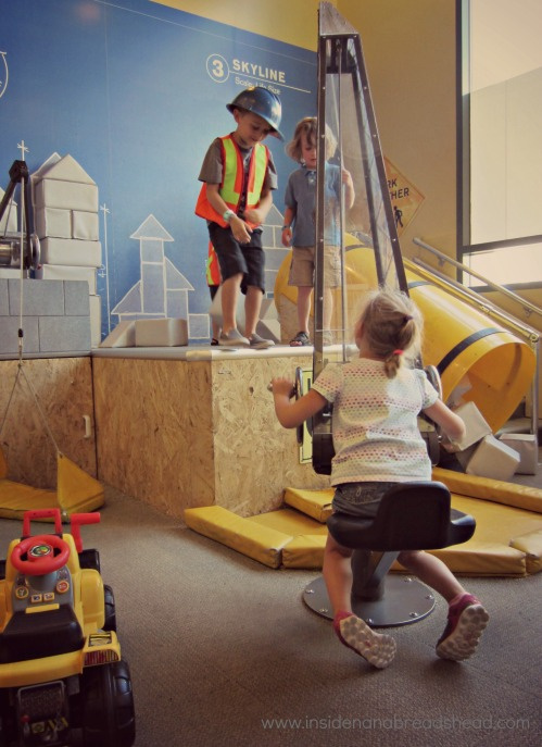 SLC Children's Museum - Construction Zone