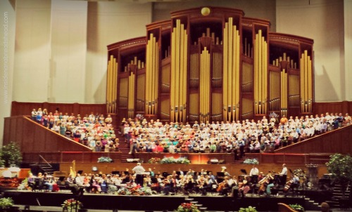 SLC - Mormon Tabernacle Choir - Public Practice