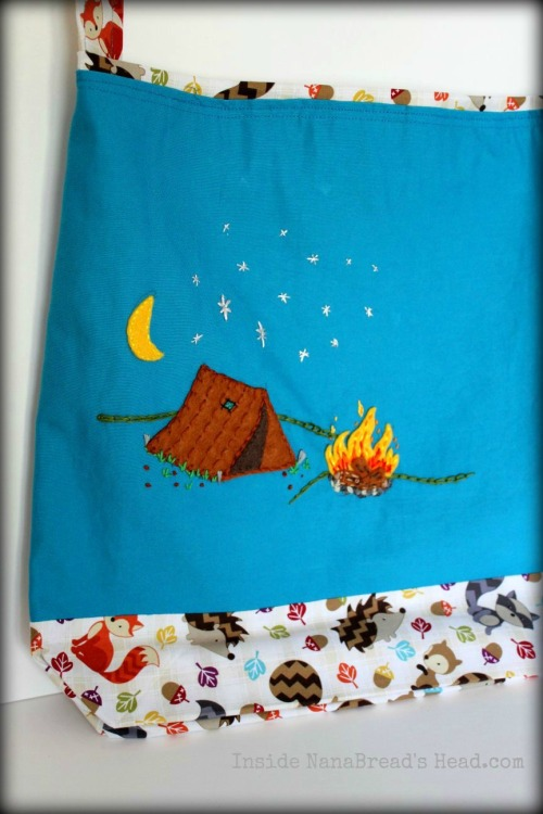 Camping Under the Stars Bag