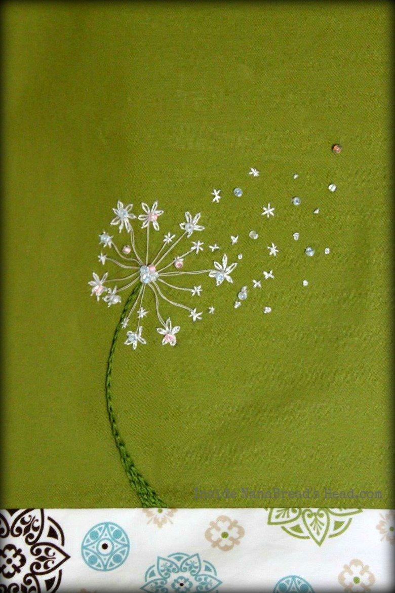 Embroidery Inside Nanabread S Head
