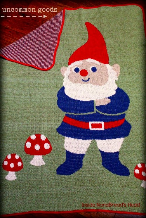 Uncommon Goods - Gnome Blanket