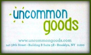 Uncommon Goods Info