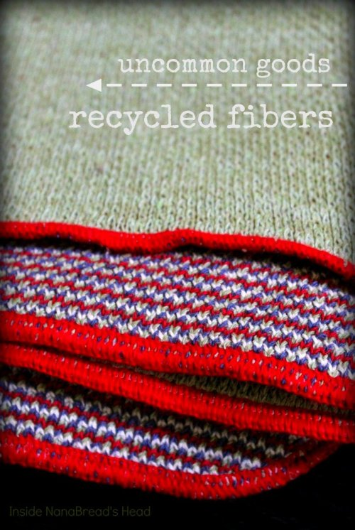 Uncommon Goods - Recycled Cotton Fibers