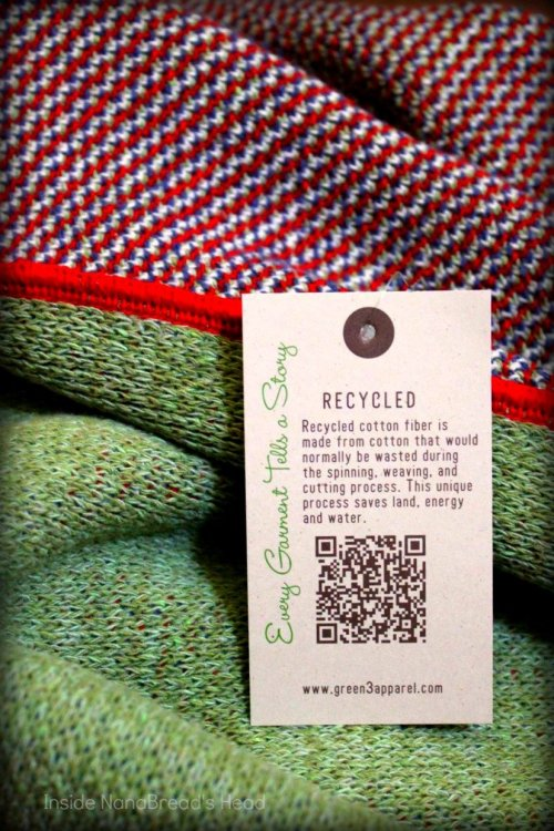 Uncommon Goods - Recycled Fiber Label - Green 3 Apparel