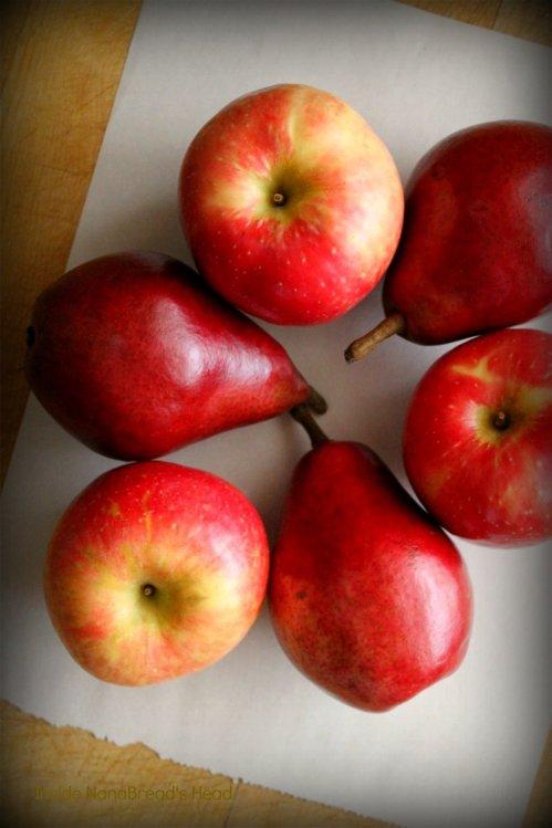 Apple Pear Cranberry Pie - The Fruit