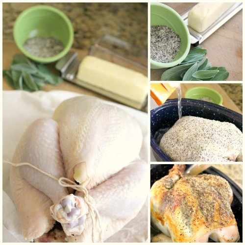 OXO Turkey Day - Chicken Prep Collage