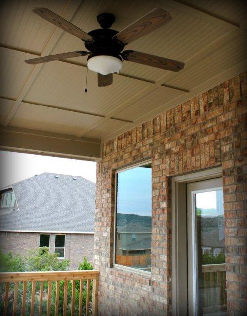 Austin House - Back Porch