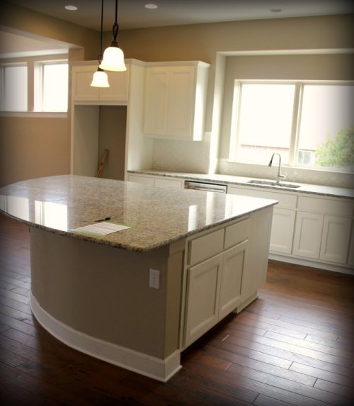 Austin House - Kitchen Island