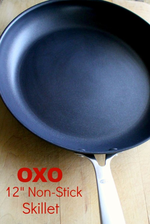 OXO - 12 Inch Non-Stick Skillet - With Text