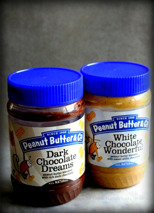 PB&Co - White & Dark Chocolate Peanut Butters