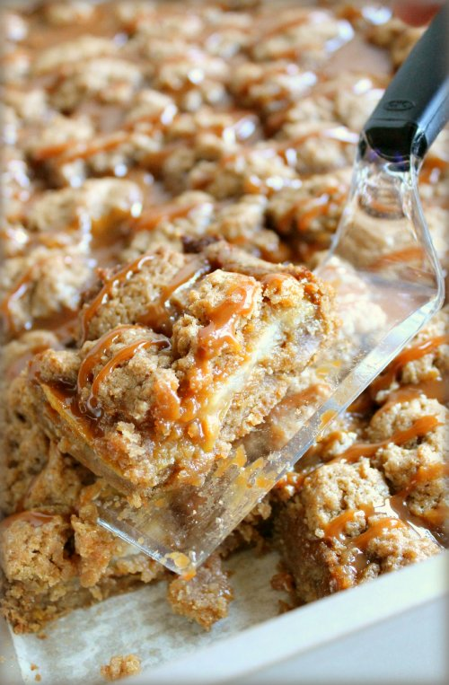 Caramel Pear Bars - OXO Server