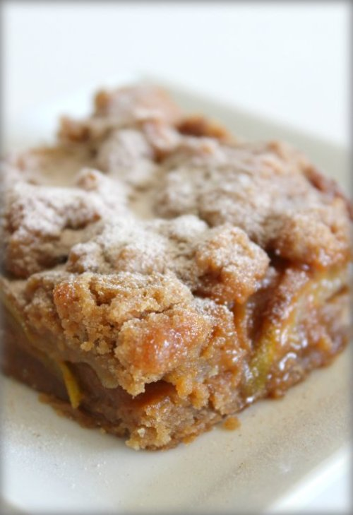 Caramel Pear Crumb Bars - OXO Cookies for Kids Cancer Recipe