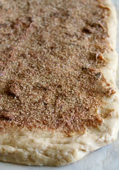 Cinnamon Sugar Sprinkle - PB Swirl Bread