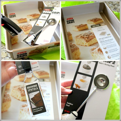 OXO Brownie Set Collage