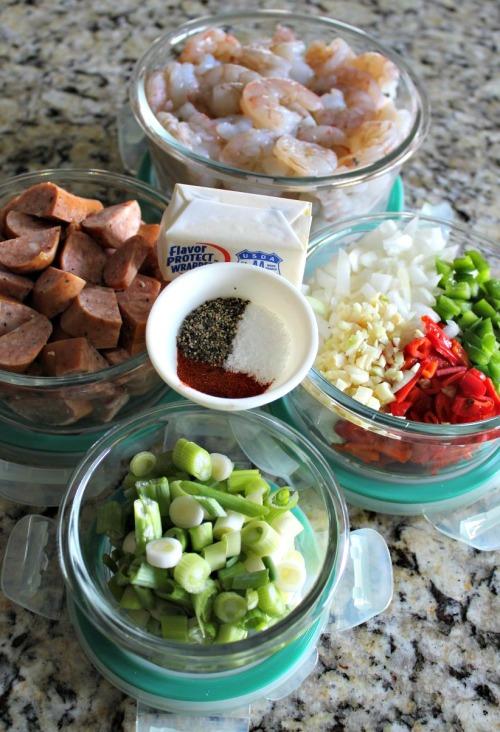 MisEnPlace - Shrimp Ingredients - INBHblog
