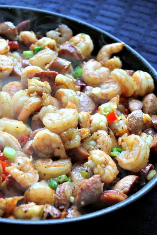 OXO Bakeware - Shrimp & Grits Cooking